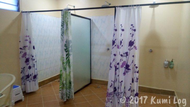 Mistique Spa シャワー