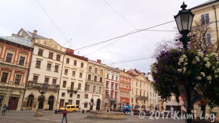 ウクライナ・リヴィヴの街並み