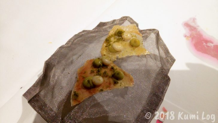 Gaggan 18皿め THAI GREEN CURRY
