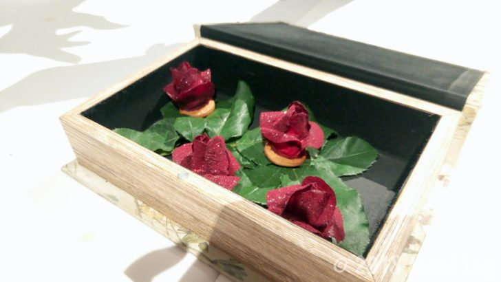 Gaggan 22皿め BEETROOT ROSE