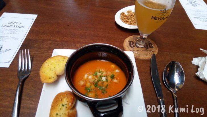 ホーチミン Belgo スープ