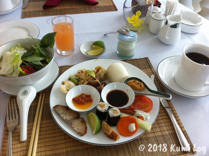 Sunrise Nha Trangでの朝食