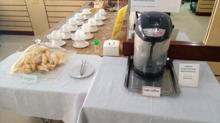 共用エリアのラオコーヒー