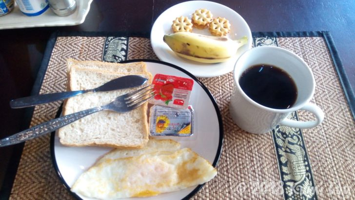 My Box Hostelの朝食