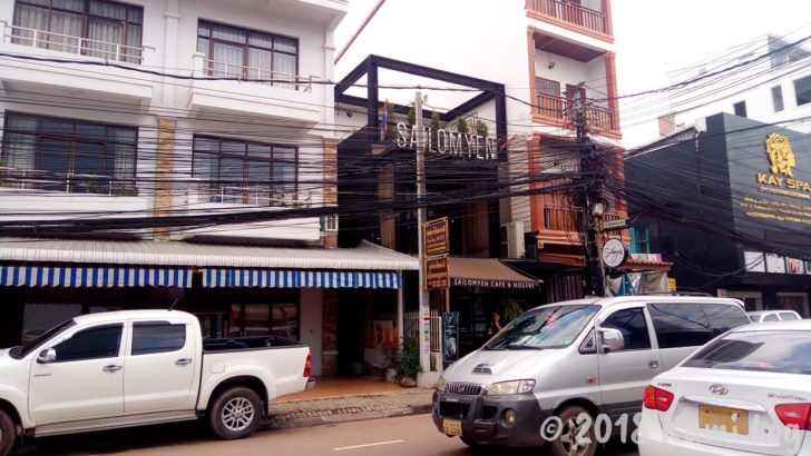 Sailomyen Hostel 外観