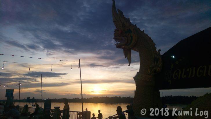 メコン川の眺め