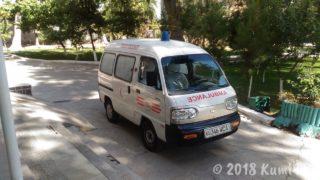ウズベキスタンの救急車
