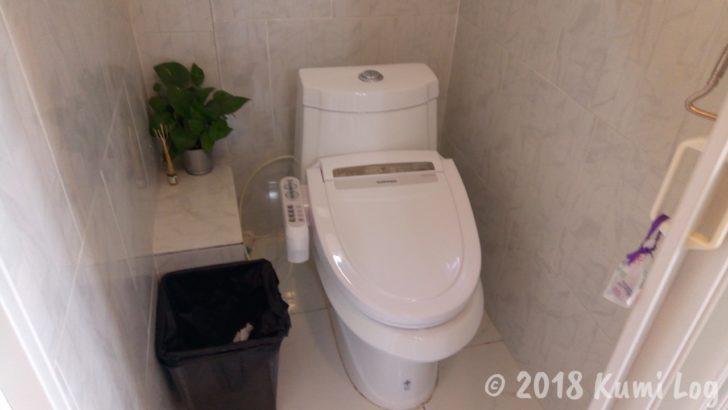 ドンムアン・Banda Hostel トイレ