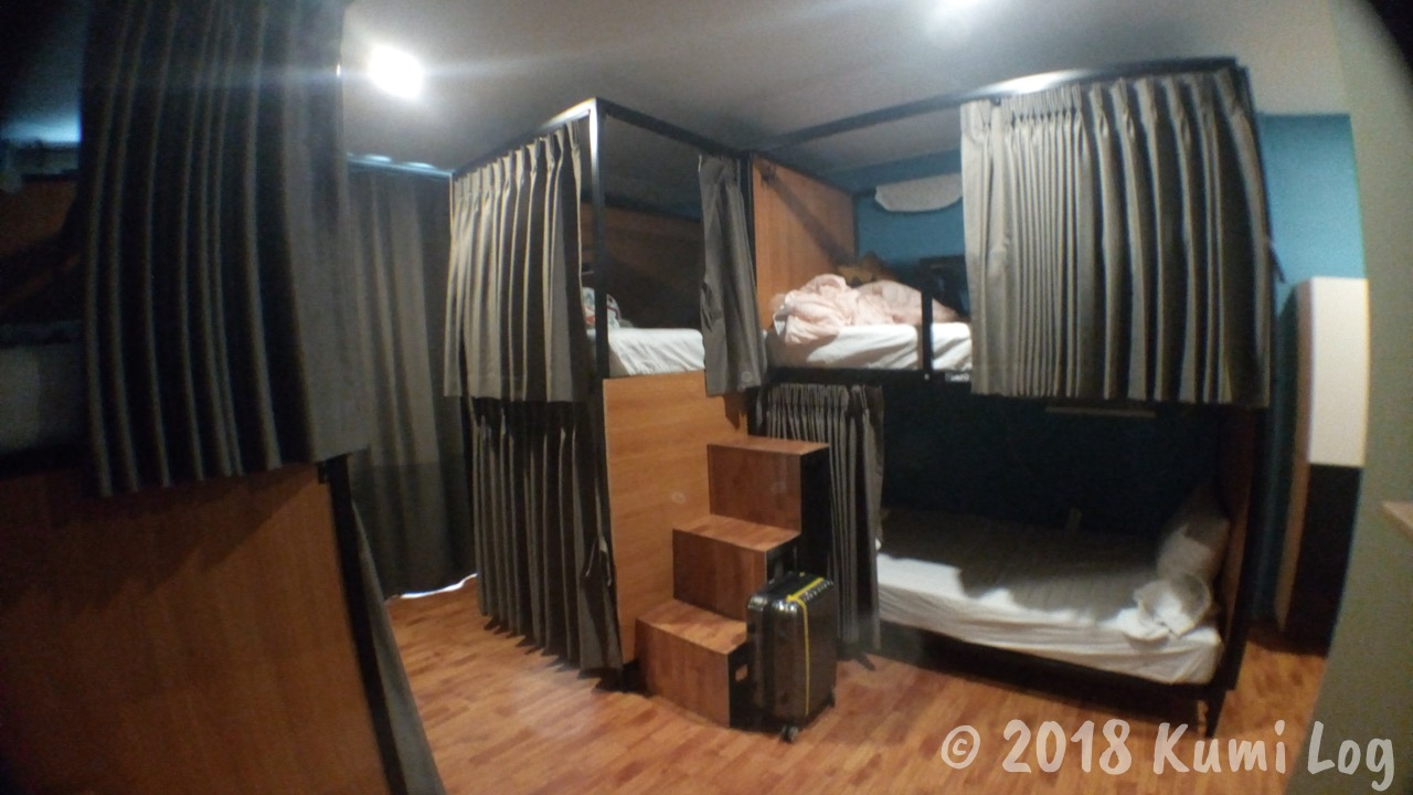 ZZZ Hostel ドミトリールーム