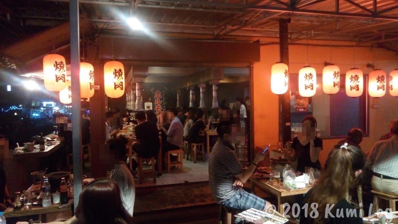 [チェンマイ] タイ人にも人気の、本格派日本式焼肉!『チェンマイホルモン』