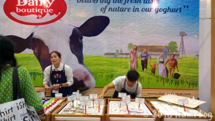 LANNA EXPO 2018 乳製品のブース
