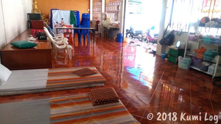 Wat Samphaoのマッサージエリア