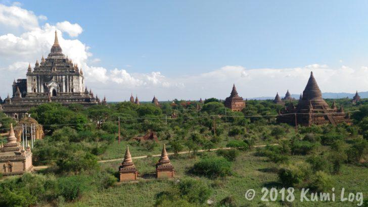 ミャンマー・バガンの遺跡
