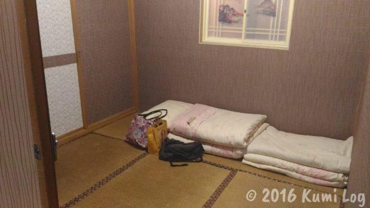 台湾 花蓮・瑞穂温泉 客室の様子