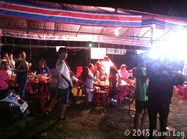 台湾・阿美族のお祭りで撮った写真