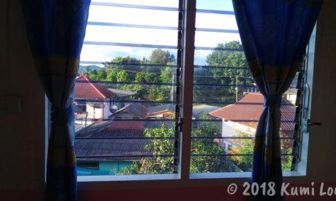 MP HOUSE 客室の窓から見た景色