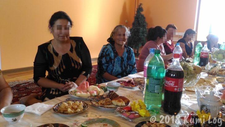 ウズベキスタン・ヒヴァでホームパーティ