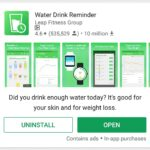 AndroidアプリのWater Drink Reminder