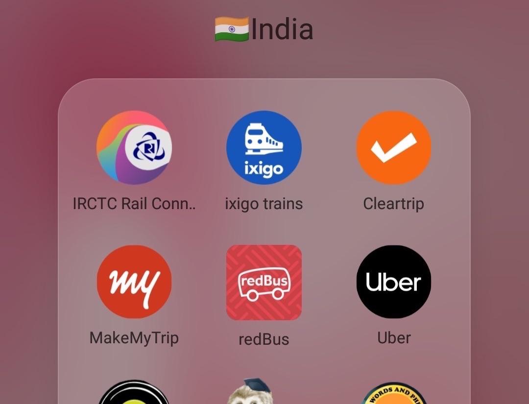 インドで役に立つアプリ