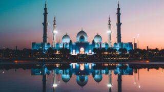 David Rodrigo撮影による、アブダビのモスク