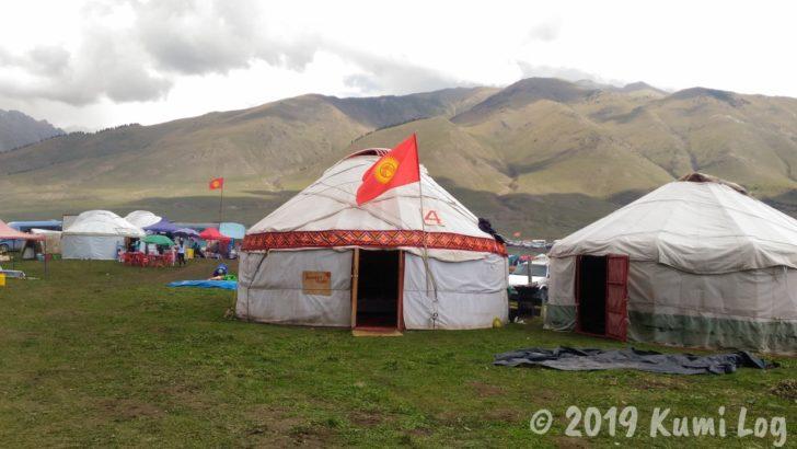 キルギスっぽい、チョルポン・アタ ワールドノマドゲームのユルタ