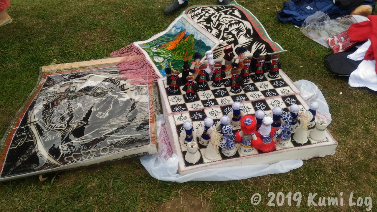 キルギス風のチェス
