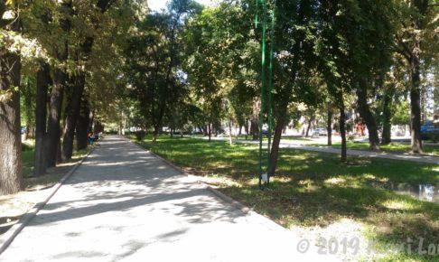 ビシュケクの公園