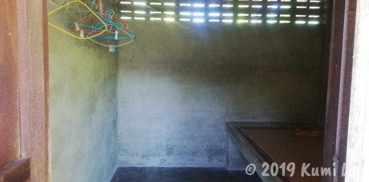 ワット・スワンモック瞑想施設 寮の部屋
