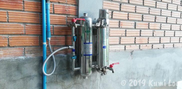 施設内にある浄水器