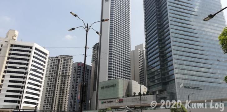 KL・Ampang Parkのビル街