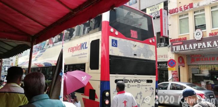 rapidKL300番のバス