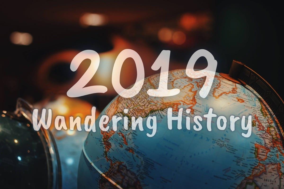 2019 wandering history