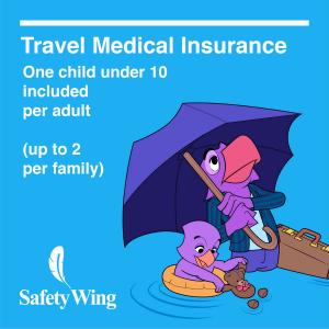 SafetyWingは10歳までの子供を無料でカバー