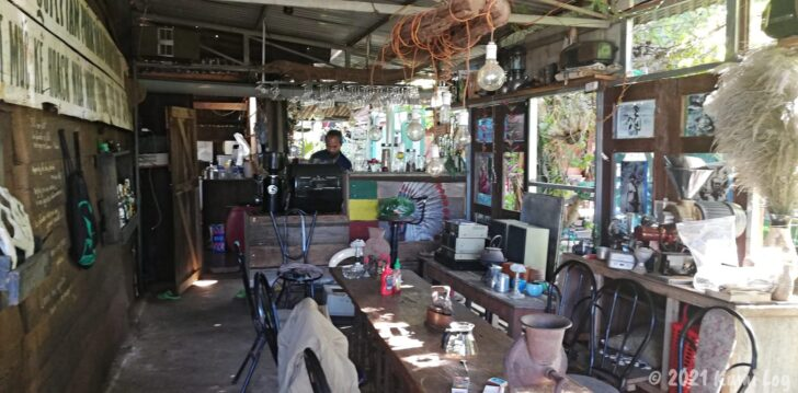 Montagnards Home Farmの母屋の食堂